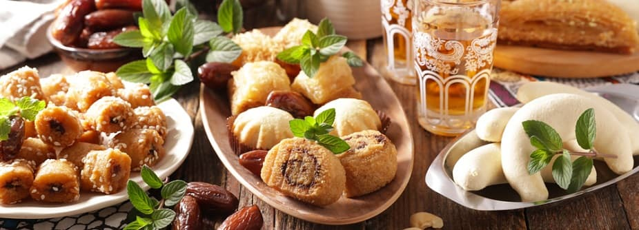 Oriental Sweets Made in Egypt