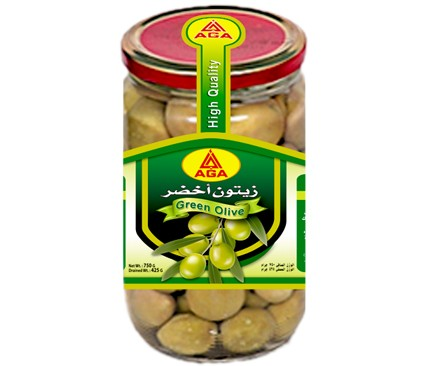 AGA Green Olives Pickles by AGA