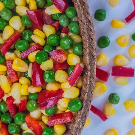 Vegetable mix made in egypt