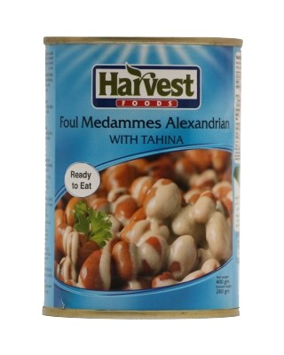 Harvest Foul medames Alexandrian with Tahina by Harvest