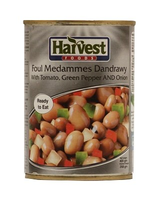 Harvest Foul medames Dandrawy with Tomato, Green Pepper and Onion by Harvest