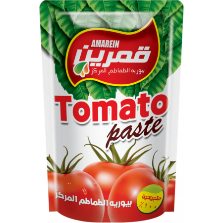 Amarein Tomato paste by Al Rabie made in Egypt