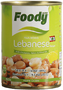 Foody Fava Beans Lebanese by AGROCORP