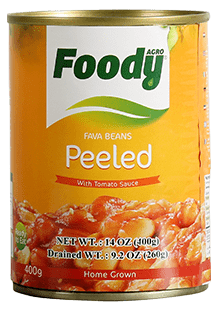 Foody Fava Beans Peeled by  AGROCORP