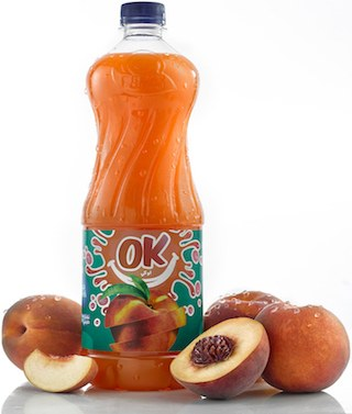 Ok Peach Juice by Great Foods, image 3