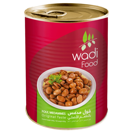 Wadi Food Fava Beans Easy Open Can by Wadi Food - 400gm