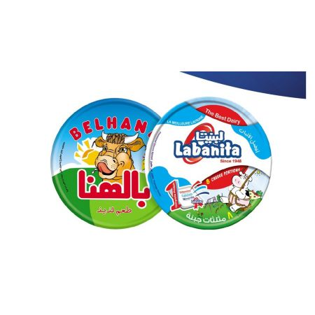 Belhana Triangle Processed Cheese by Mansour