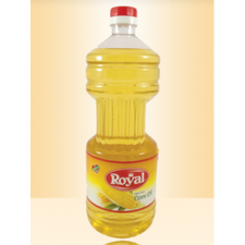 Royal Corn Oil Made in Egypt by Oil Tec 1.8 Liter Cylindrical Shape