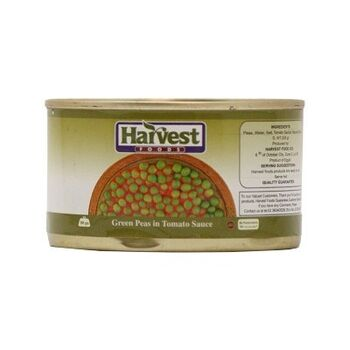 Green Peas in Tomato Sauce by Harvest