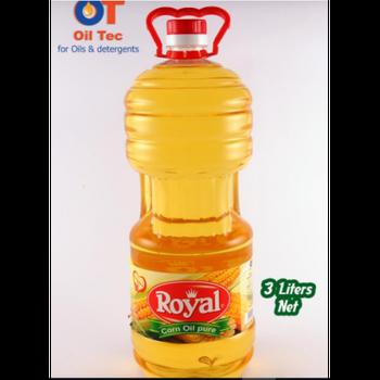Royal Corn Oil by Oil Tec - 3 Liter