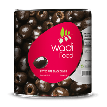Wadi Food Pitted Ripe Olives by Wadi Food - 1.5 kg