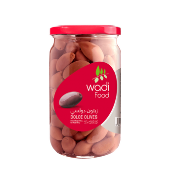 Wadi Food Dolce Olives  by Wadi Food - 650gm Jar