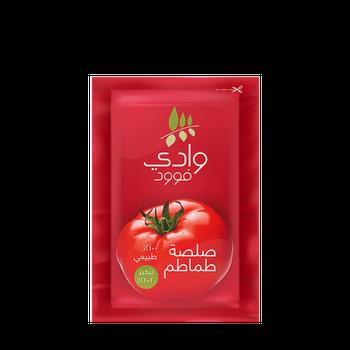 Wadi Food Tomato Paste Pouch Sachet by Wadi Food - 50gm