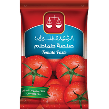 Tomato Paste Sachets by El Rashidi El Mizan