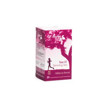 Safia's slimming tea 21 Hibiscus Flavour by Family Pharmacia