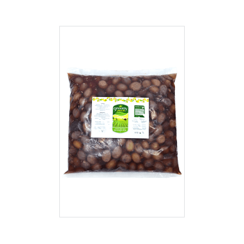 greeny Black Oxidized Olives by Quality Standard