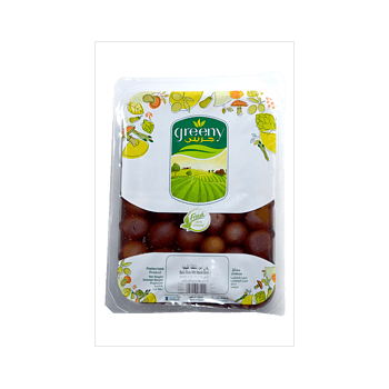 greeny Black Natural Olives by Quality Standard