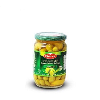 Green olives(salkini) by Al Durra - 650 gm