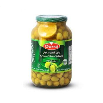 Green olives(salkini) by Al Durra - 1400 gm