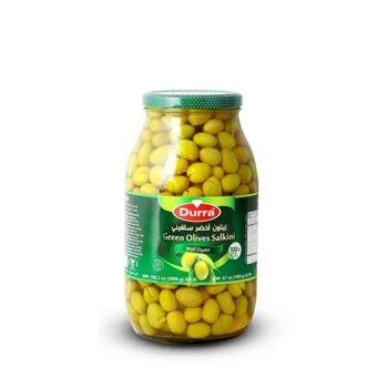 Green olives(salkini) by Al Durra - 2900 gm