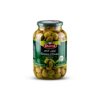 Green Olives (Colossal) by Al Durra - 1400 gm