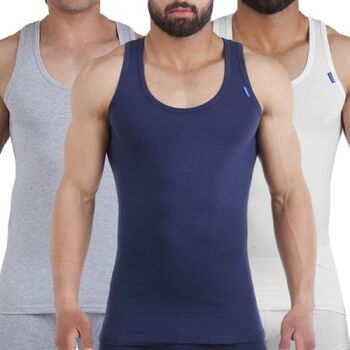 Tank Top lycra Pack Of 3 B by Embrator