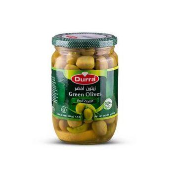 Green Olives croside by Al Durra - 650 gm