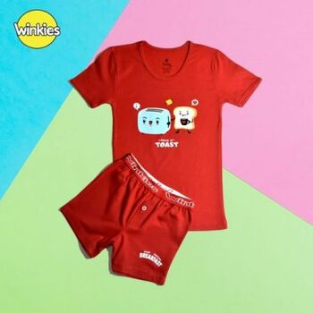 Undershirt & Boxers Printed Set Boys by Embrator
