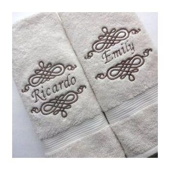 Printed towels by Helens's Group