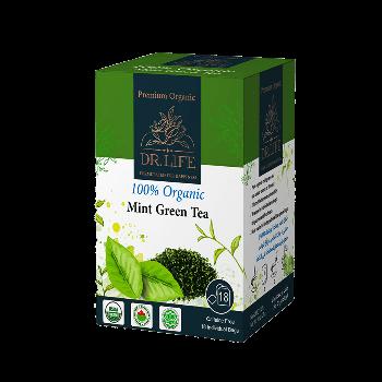 Dr.Life Organic Mint Green Tea by Family Pharmacia