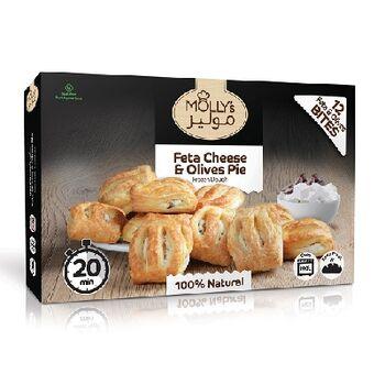 Mollys Feta & Olive Pie 360 by Fancy Foods