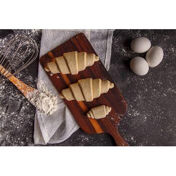 Mollys Mini Croissant Plain 30 by Fancy Foods