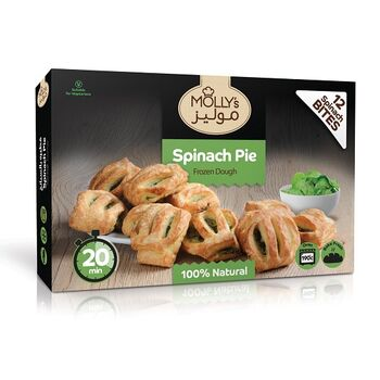 Mollys Spinach pie 360 by Fancy Foods