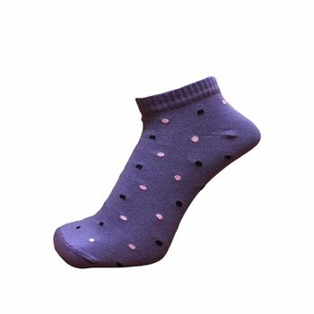 Dotted Ankle socks by Senior Gabr