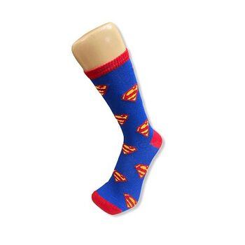 Superman Long Socks by Senior Gabr