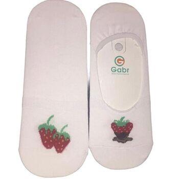 Strawberry Invisible Socks by Senior Gabr