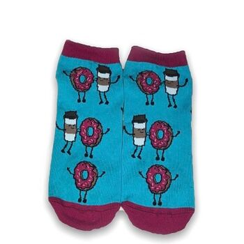 Donut Ankle Socks by Senior Gabr
