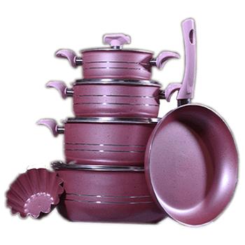 Cookware Sets Granite by Elomda - Purple