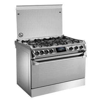 Freestanding Cookers / Icon Stainless Silver by Universal