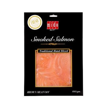 Fresh Smoked Salmon Slices by Mido's