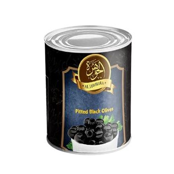Al Jawhara Pitted Black Olives by Two Brothers Co.