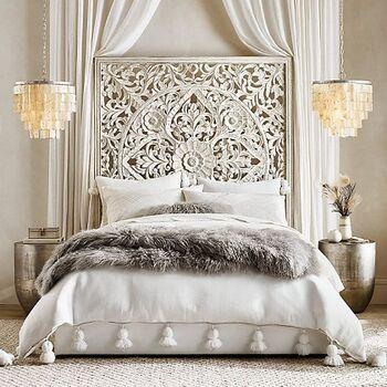 Anaya Platform Bed by Furniture Ideal