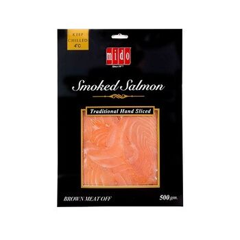 Smoked Salmon Slices by Mido's