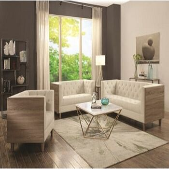Wooden Modern Living Room by Furniture Ideal