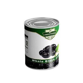 Whole Black Olives by Two Brothers Co.