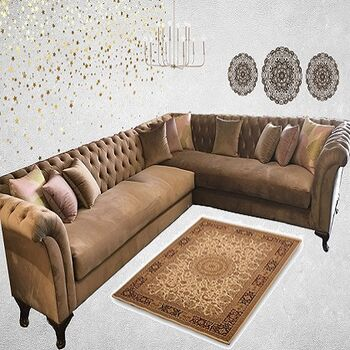 Orian L Shape living room by Furniture Ideal