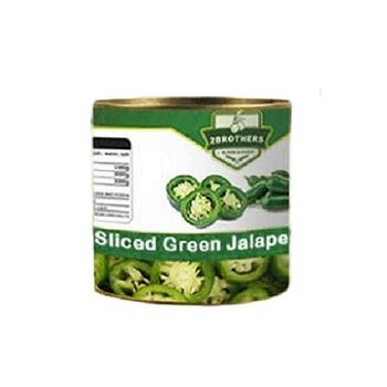 Sliced Green Jalapeno by Two Brothers Co.