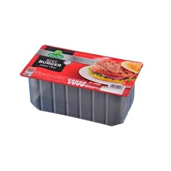 Beef Burger package by Halwani Brothers Egypt - 800g