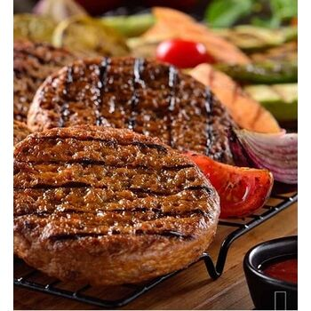 Beef Burger package by Halwani Brothers Egypt - 2 Kg