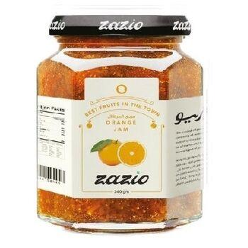 Zazio Orange Jam Premium Quality by BCF
